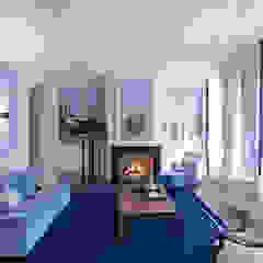 Renovatie en inrichting monumentale stadsvilla Eclectische slaapkamers van Atelier Denessen Architecture Eclectisch