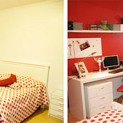 CALOR DE HOGAR Dormitorios coloniales de Majo Barreña Diseño de Interiores Colonial