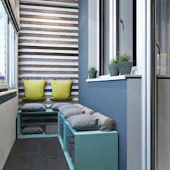 Scandinavische balkons, veranda's en terrassen van OBJECT Scandinavisch