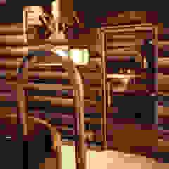 Spa Club - Private Banya Taiga by Natalia Interior Design Eclectic Wood Wood effect