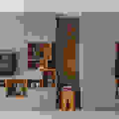 MAP HOUSE 根據 齊禾設計有限公司 北歐風 實木 Multicolored