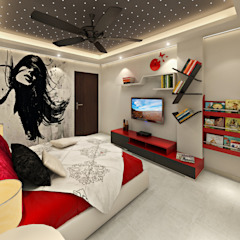 Asian style nursery/kids room by homify Asian