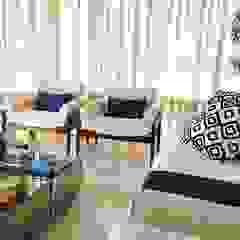 Sacada a beira mar Jardins de inverno minimalistas por Bruna Zappelini Arquitetura Minimalista
