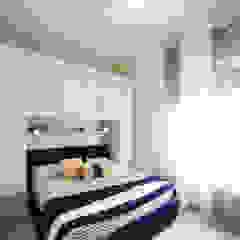Dormitorios de estilo mediterráneo de Civicocinquestudio Mediterráneo