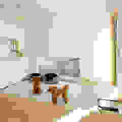 Scandinavian style balcony, veranda & terrace by 福田康紀建築計画 Scandinavian