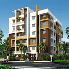 Classic style houses by Mourya Constructions Classic