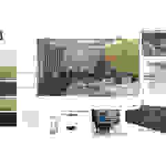 INTERIORISMO DE UNA VIVIENDA UNIFAMILIAR Salas de estilo moderno de Arq. Marynes Salas Moderno