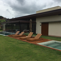 Moderne Pools von luciana zeitel & marcella libeskind arquitetura e interiores Modern