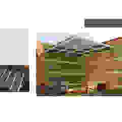 INTERIORISMO PARA UNA VIVIENDA UNIFAMILIAR DE 2 NIVELES Jardines de estilo moderno de Arq. Marynes Salas Moderno