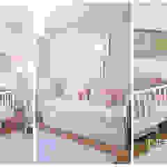 Projeto Design de Interiores - Quarto de bebé Quartos de criança modernos por Detalhes & Design Moderno