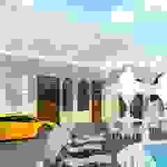 지중해스타일 주택 by Luxury Antonovich Design 지중해