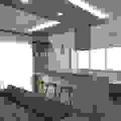 Salas de estilo moderno de Architetto Luigia Pace Moderno Madera Acabado en madera