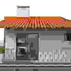 Scandinavian style garage/shed by Angelica Pecego Arquitetura Scandinavian