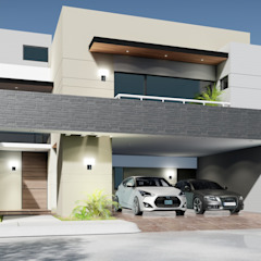 Casas modernas de homify Moderno Piedra