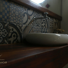 CASA DA FAZENDA Banheiros coloniais por Mariana Chalhoub Colonial