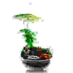 Bahçehane Garden Plant pots & vases Kaca Multicolored