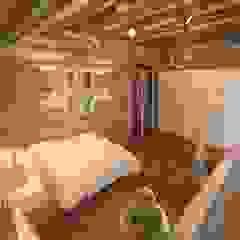 Rustic style nursery/kids room by atmosvera Rustic Wood Wood effect