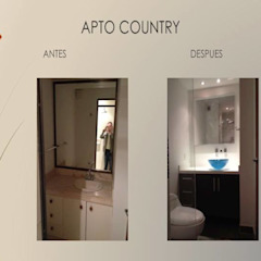 Baño habitaciones Erick Becerra Arquitecto