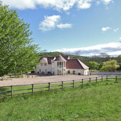 Draethen Farm House Conversion Smarta Country style garden