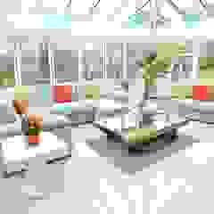 Draethen Farm House Conversion Smarta Modern conservatory