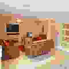 Draethen Farm House Conversion Smarta Modern living room