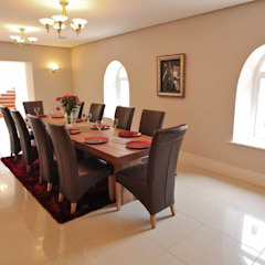 Draethen Farm House Conversion Smarta Modern dining room