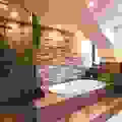 Ein Bad mit Individuellem Design München Waldperlach Moderne Badezimmer von Cella GmbH Modern Fliesen