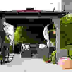 EK SUMMER HOUSE Mediterranean style balcony, porch & terrace by Esra Kazmirci Mimarlik Mediterranean