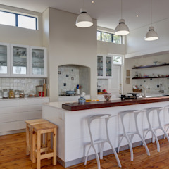 Muse Architects Eclectic style kitchen