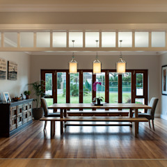 Muse Architects Country style dining room