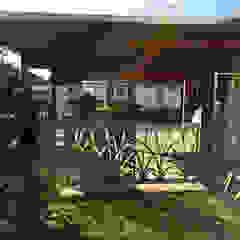 """Edelstahlgeländer und Gartentür """"Cat Tails"""" Moderner Garten von Edelstahl Atelier Crouse - individuelle Gartentore Modern Metall"""