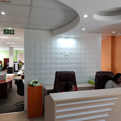 MCPF Offices by Leone Truter Interiors Modern