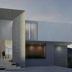 HAC Arquitectura Modern Houses Concrete