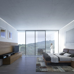 HAC Arquitectura Спальня в стиле модерн