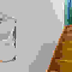 Corredores, halls e escadas rústicos por homify Rústico