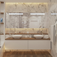Modern Bathroom by Flatsdesign Modern