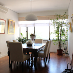 OFFICIAL RESIDENCE - REPULSE BAY Eclectic style dining room by M2A Design Eclectic Wood Wood effect