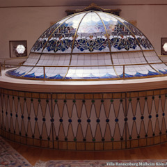 Kubbe - Dome Asyatik Duvar & Zemin nev vitray Asyatik