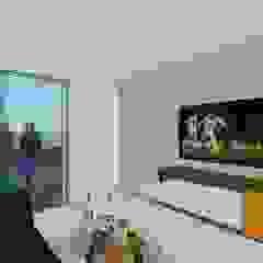 Conjunto residencial campestre Salas de estilo moderno de MARATEA Estudio Moderno