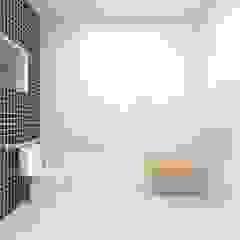 Reforma Casa C.P. Banheiros campestres por Atelie 3 Arquitetura Campestre Cerâmica