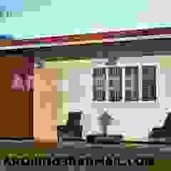 diseños en peru Arquing3d Casas clásicas Ladrillos Beige
