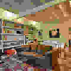 现代客厅設計點子、靈感 & 圖片 根據 Caterina Raddi 現代風