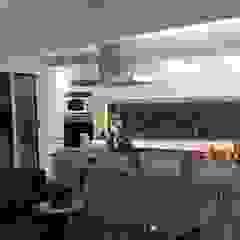 Diseño interior y Equipamiento departamento en Caballito de CLAMOR CASA Y DECO Moderno