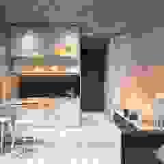 Minimalist kitchen by Zikzak architects Minimalist
