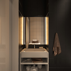 Minimalist bathroom by Zikzak architects Minimalist