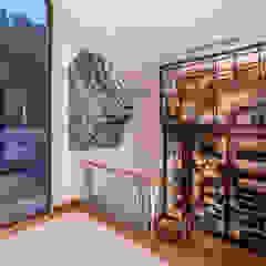 CASA EN CASUARINAS MC Pasillos, vestíbulos y escaleras modernos de DMS Arquitectas Moderno