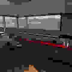 Vivienda CA Salas multimedia modernas de Gastón Blanco Arquitecto Moderno