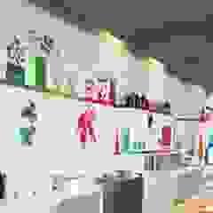 Buiten-de-deur-werk-pareltje : Seats2Meet Strijp-S Eindhoven Moderne gastronomie van INinterieurs Modern