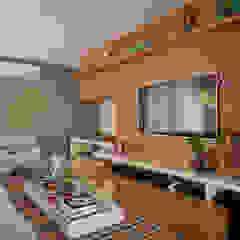 Salas de estilo asiático de Larissa Nahum Arquitetura.Interiores Asiático