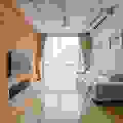 Bartley Residence Interior Design Singapore Minimalist media room by Posh Home Interior Design Minimalist